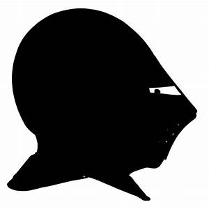 Image Gallery knight helmet silhouette