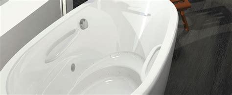 bain ultra essescia oval freestanding bathtub