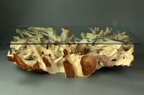 teak root wood coffee tables  indonesia supplier