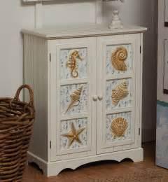 seashell bathroom ideas seashell 2 door cabinet