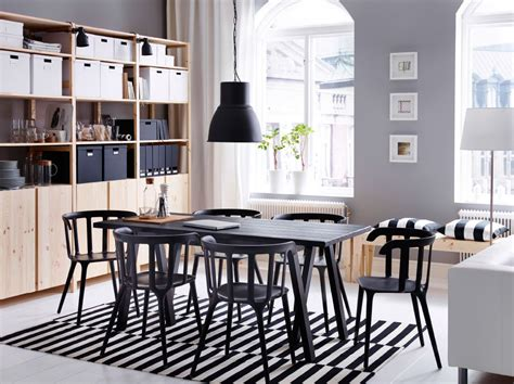 Ikea Esszimmer by Contemporary Workspace By Day Space For Dining With