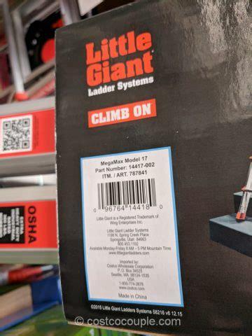 giant megamax model  ladder system