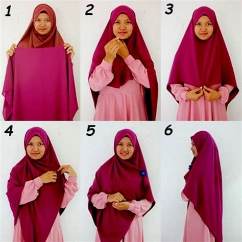 tutorial hijab menutup dada sopan anggun  tetap