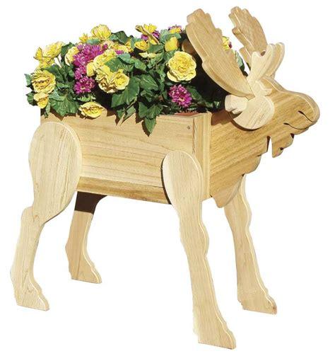 moose planter woodworking plan