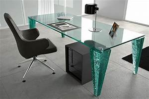 Moderne Schreibtische : schreibtisch aus glas wunderbare ideen ~ Pilothousefishingboats.com Haus und Dekorationen