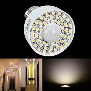 Lampe Indirektes Licht : e27 akustische sensor 3528smd 45led birnen lampe licht pir ~ Michelbontemps.com Haus und Dekorationen