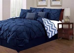 Amazing Blue King Size Comforter Set Navy Sets