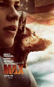 "NEW ""MAX"" POSTER SALUTES HERO DOG - Movie Pinas"