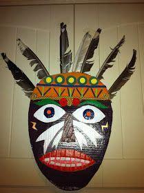 afrikanische masken basteln afrikanische maske kunstunterricht in 2019