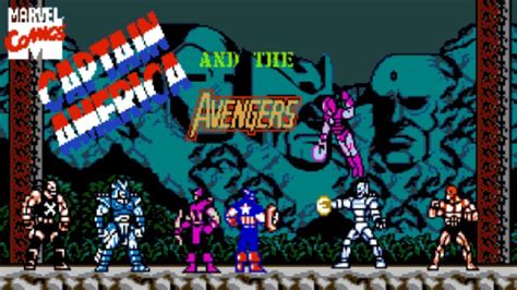 Captain America And The Avengers Nes Longplay No Death