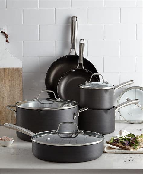 calphalon classic nonstick  pc cookware set created  macys dynamicmart