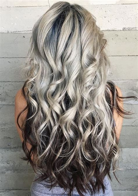 On Top And Underneath Hairstyles by Platinum With Underneath In 2019