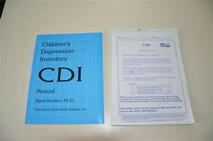 Cdi Children U0026 39 S Depression Inventory Technical Manual