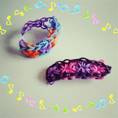 bracelet elastique tuto tuto bracelet elastique 4 fleur