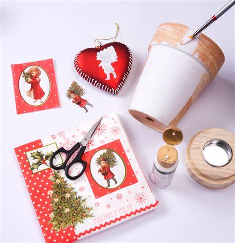 weihnachtsdeko basteln wohnen basteln mit serviettentechnik basteln selbst de