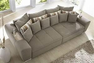 Big Sofas Günstig : big sofa bigsofa couch garnitur hellbraun braun grau neu ~ A.2002-acura-tl-radio.info Haus und Dekorationen