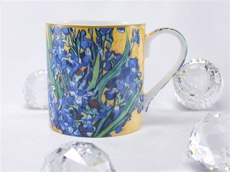Is liu's painting really a reason to cancel impressionism and post. Vincent van Gogh Irises coffee cup - Exclusive collection - DELUXE by MJS