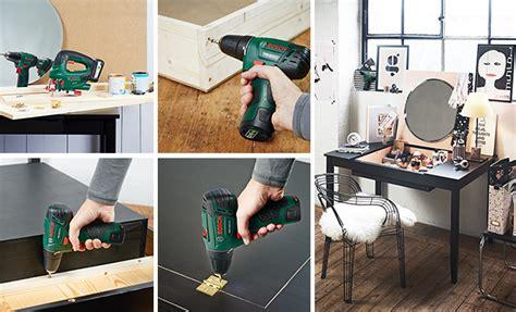 comment faire un bureau soi meme tutoriel r 233 aliser un bureau convertible en coiffeuse