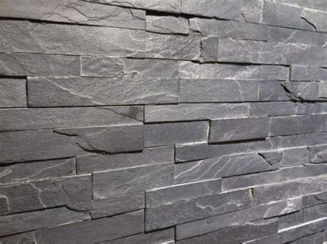 Steenstrips No.01 TESU Black Slate   Interieur   Pinterest