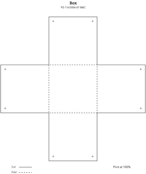 printable box template squares template cake ideas and designs