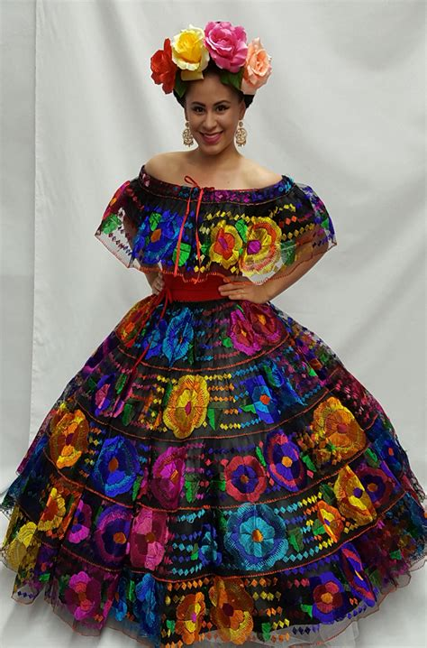 Chiapas Dress Olverita's Village