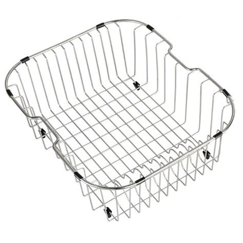 kitchen sink drainers baskets kraus stainless steel rinse basket for kitchen sink 5765