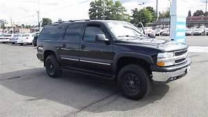 2001 Chevrolet Suburban  Black - Stock  11227