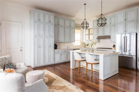 pale blue kitchen accessories light blue kitchen cabinets with white quartz 4080