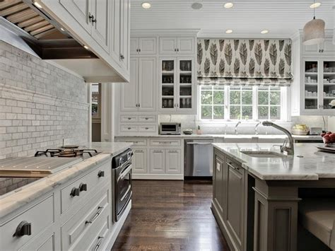 pictures of white kitchen cabinets gray center island transitional kitchen 9129