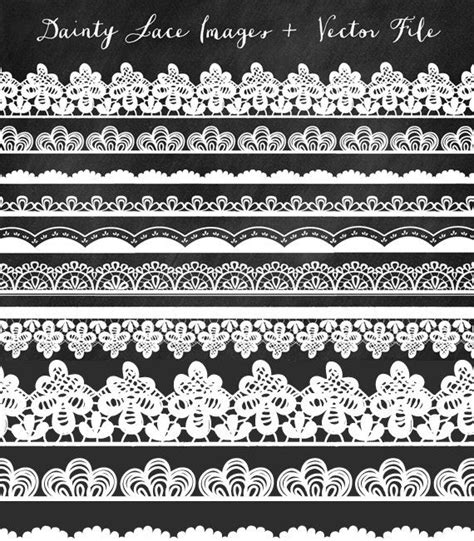 Lace Clip Lace Clip Border Clip Lace Trim And Photoshop