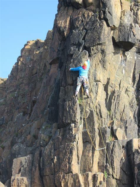 west coast scotland rock climbing adele pennington