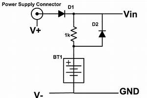 create your own battery backup power supplies With say a battery is supplying 12 volts to a circuit