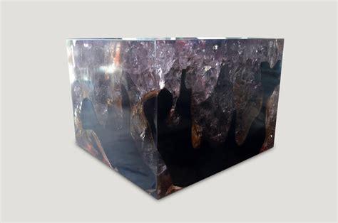 cracked resin coffee table cr andrianna shamaris