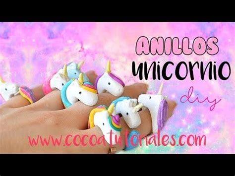 Cómo hacer Anillos para niños con forma de unicornio