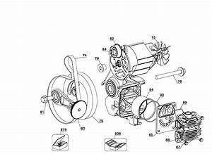 Dewalt D55168 Type 6 Air Compressor Parts