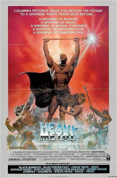 Metal Heavy Poster Hurlant Den Corben Jaquette