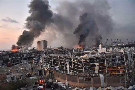 Thousands Injured in Giant Beirut Blast