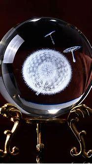3D Dandelion Crystal Ball   Gift Idea, Crystal Balls ...
