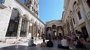 Croatie Le Palais De Diocltien Split Noobvoyagefr