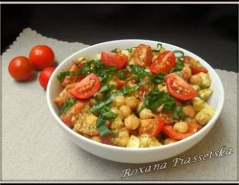 cuisiner pois chiches salade tomates cuisine facile cuisiner rapide pois chiches