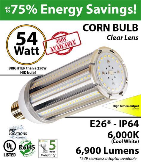 300 watt light bulb led replacement 54w led corn light bulbs 300 watt hps replacement go