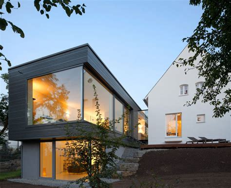 modern houses in germany neat family home with sprinkles of modern decorations in regensburg germany freshome com