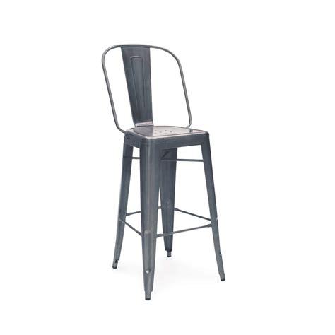 30 folding stool charcoal gun metal high back tolix bar stool