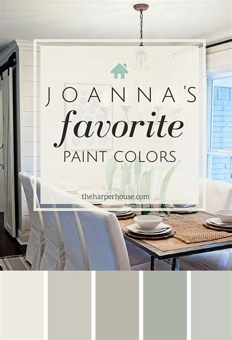 fixer paint colors joanna s 5 favorites rustig