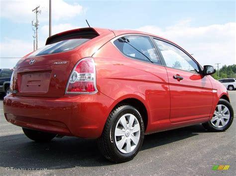2007 Hyundai Accent Red  200+ Interior and Exterior Images