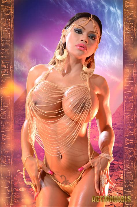 Exclusive Actiongirls Armie Filed Egyptian Goddess Cosplay Pichunter