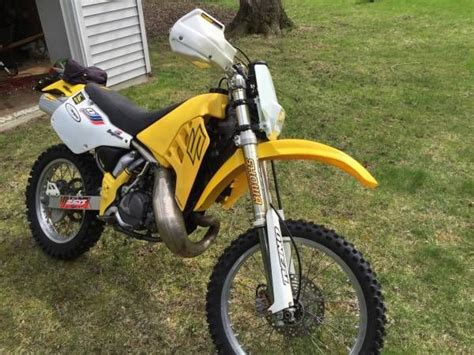 1995 Suzuki Rmx250 Enduro Motorcycle Street Legal Dirt