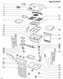 31 Weber Genesis E 310 Parts Diagram