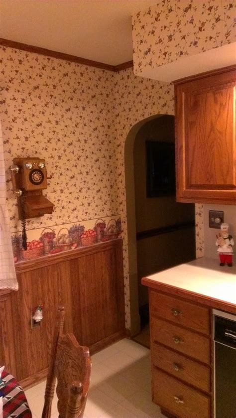 Kitchen update   Reused the 20 year old oak cabinets