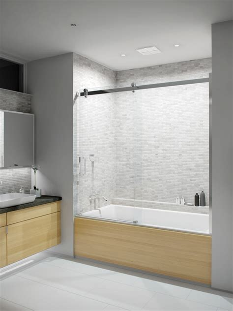 slik portfolio flow    flow  tub shower door